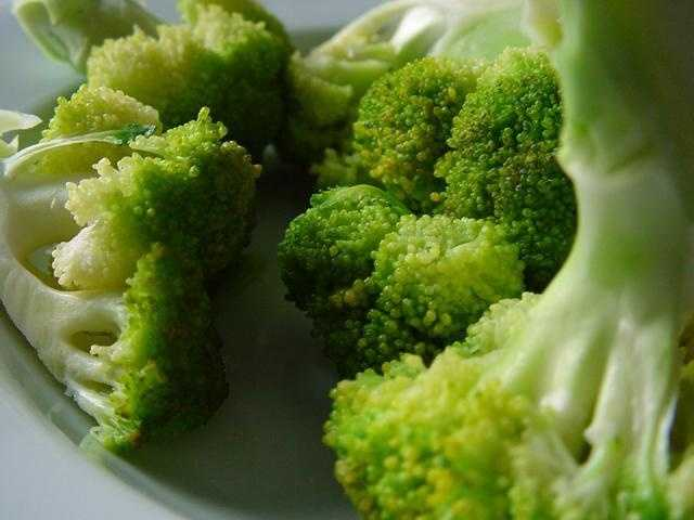 Broccoli is low-calorie and provides calcium, vitamins A and C, potassium, folate and fiber.