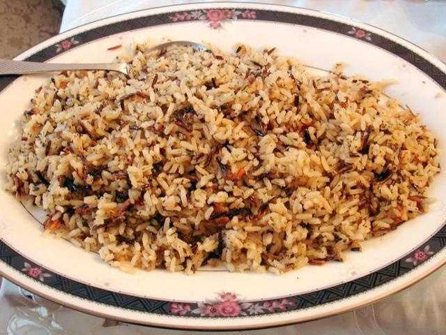 Wild rice is low in fat, has a great flavor and contains many nutrients.