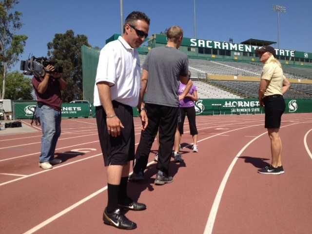 "Teo ran the ""anchor"" leg or the 4th leg of the relay."