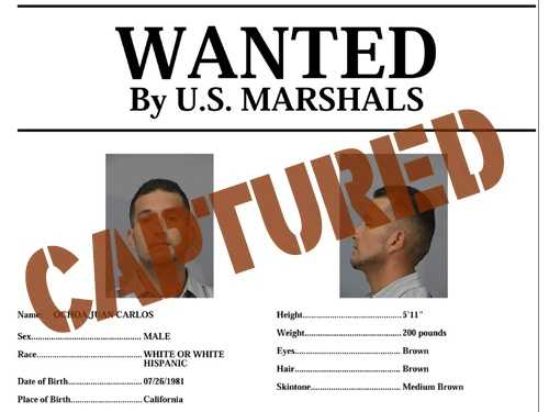 Juan Carlos Ochoa: Ochoa has been apprehended.