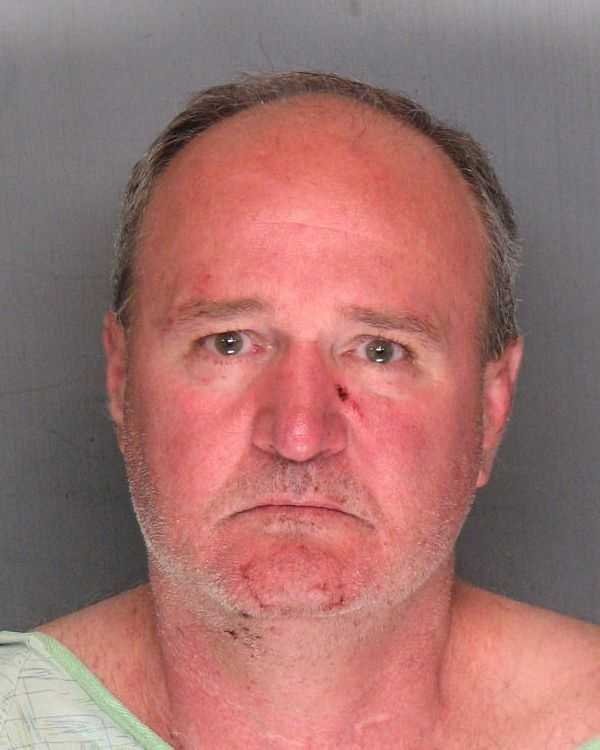Loren Christopher Atkins was arrested after authorities responded to a domestic violence call in Stockton.