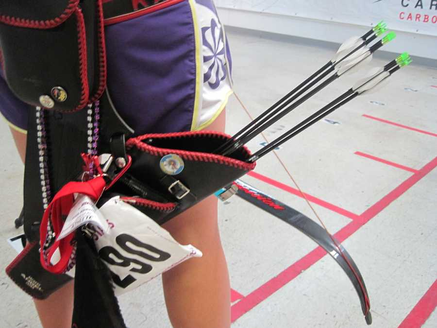 Expect a sore back after your first archery session.