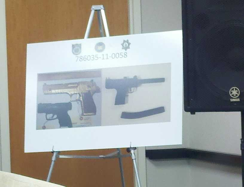 The Sacramento District Attorney's Office said one of guns sold illegally was found in possession of a convicted felon. Two others were found in Daly City after a six-hour standoff.
