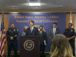 Federal prosecutors announced charges Friday against two Sacramento County sheriff's deputies accused of illegally selling dozens of weapons, some of which authorities say fell into the hands of criminals.