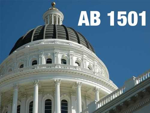 AB 1501: A bill that would help middle class families pay for colleges and universities. Would cut fees for families who make fewer than $150,000 a year but too much to qualify for state financial aid.