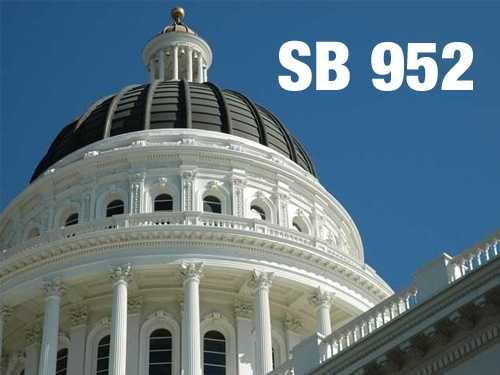 SB 952:  Limits executive salaries at the state's 23 California State University campuses. From July this year to July 2014 puts a moratorium on pay raises for employees making $200,000 or more a year.