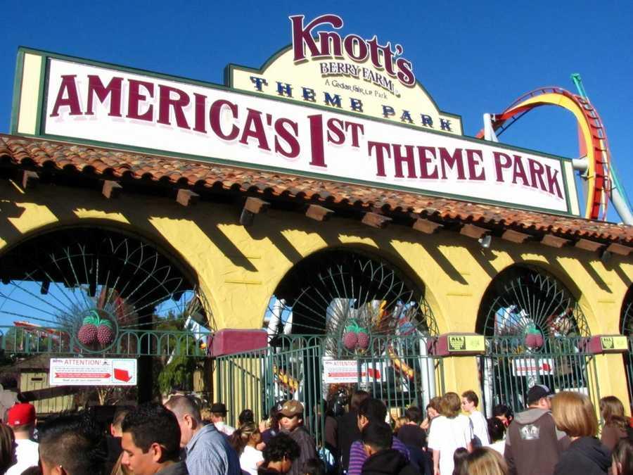 Knott's Berry Farm - Buena Park, CAAdult Online:  $36.99 / Gate:  $57.99Jr./Sr. Online:  $26.99 / Gate:  $28.99Parking: $15