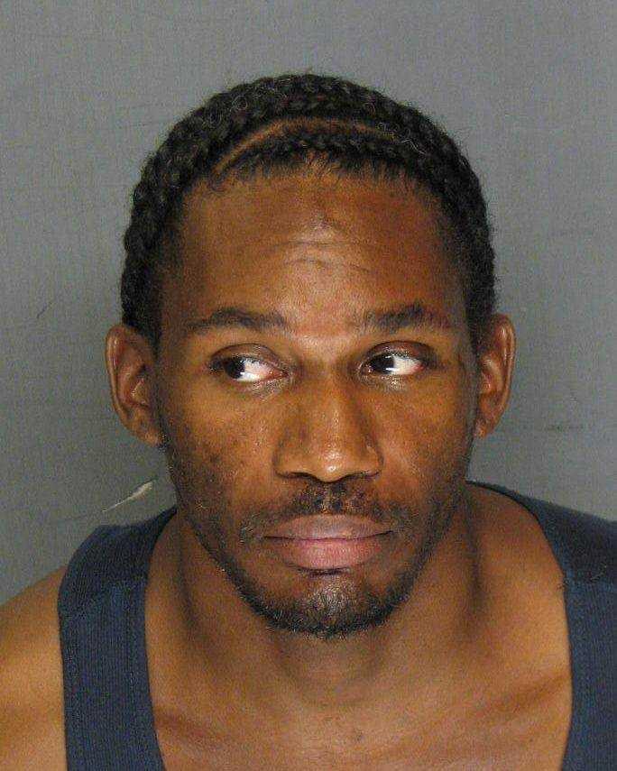 Derrick Wilburn, 29, was arrested on suspicion of robbing several banks in the Stockton area, police said.