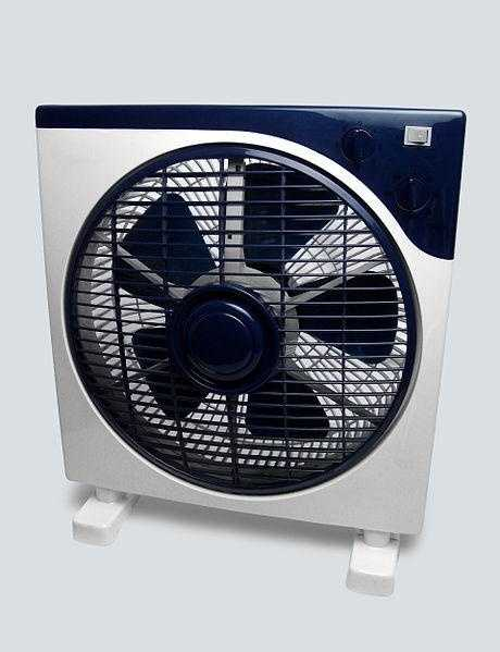 Use a fan to help circulate the air better during the day in your house.