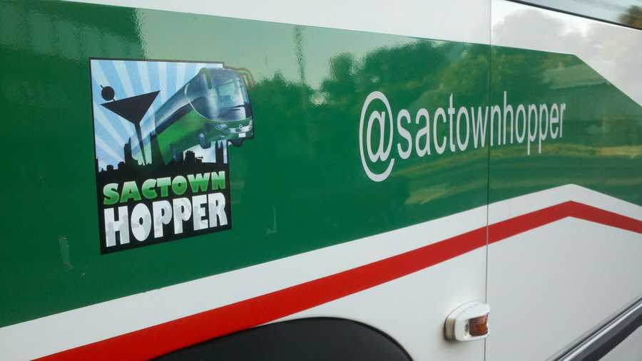 The Sactown Hopper is operated by Allen Transportation.
