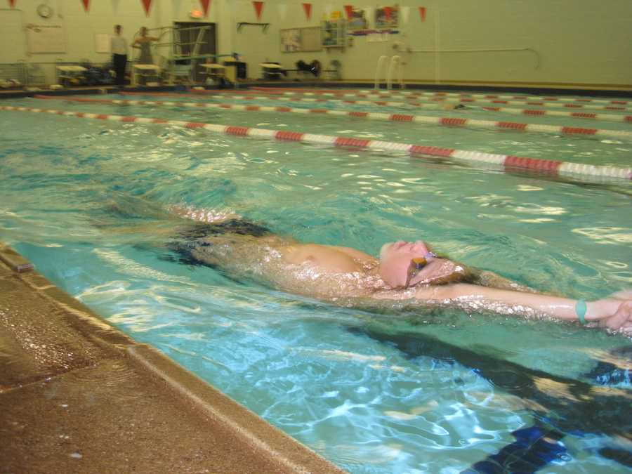 Debbie's high school swimmers are in the pool at 6 a.m.