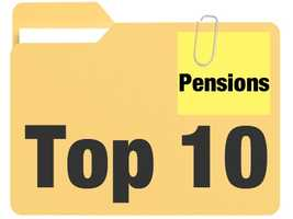The number of retired California government workers collecting six-figure pensions is growing fast. Click through this slideshow to see how much the top 10 pension recipients are receiving every month.