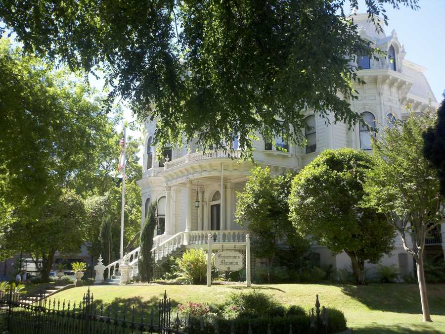 The Governor's Mansion in midtown Sacramento is on a proposed list of 70 parks slated to close, due to budget restraints (Jorge Velasquez/ KCRA).