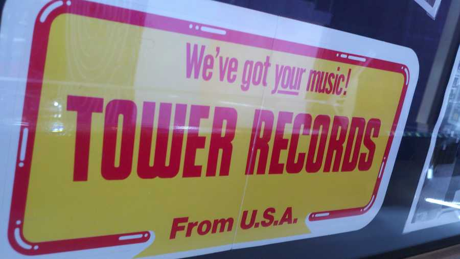 At its height, Tower Records had 170 stores and did annual sales of $1 billion.