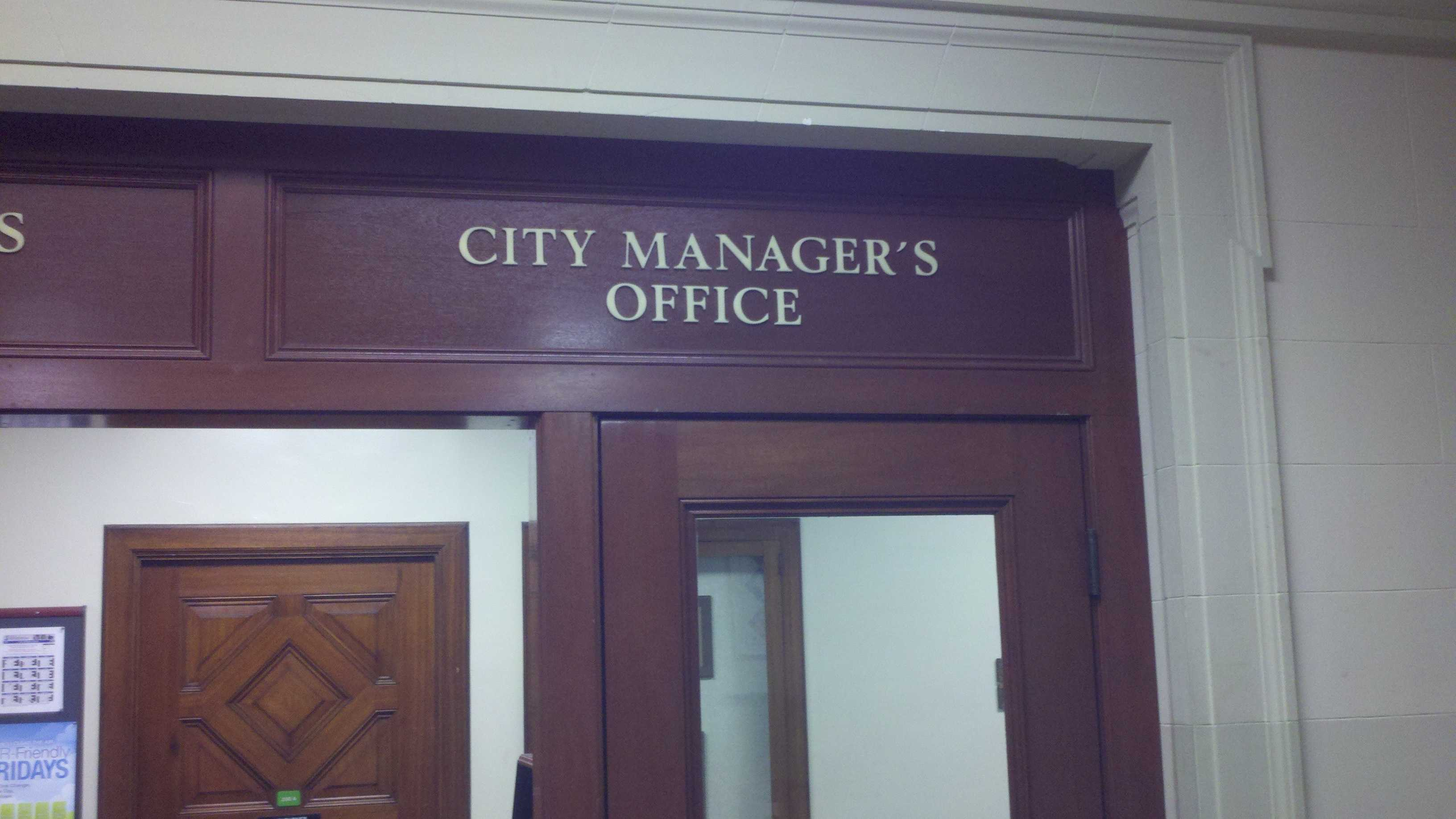 The Stockton City Manager's office (June 21, 2012)
