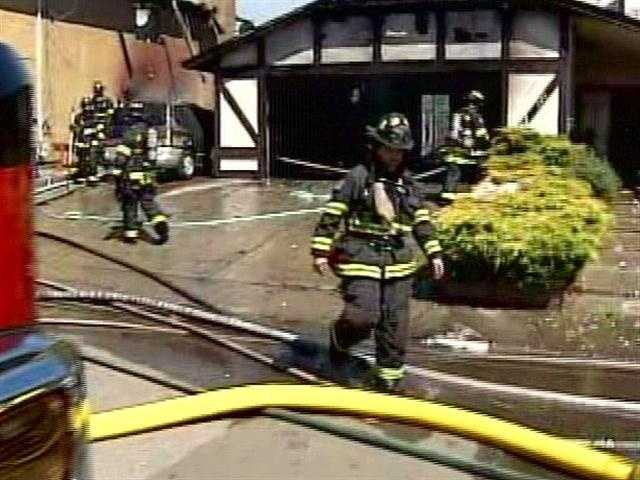 Fire officials say two homes have been badly damaged in a fire in a Vallejo residential neighborhood, the Associated Press reported.