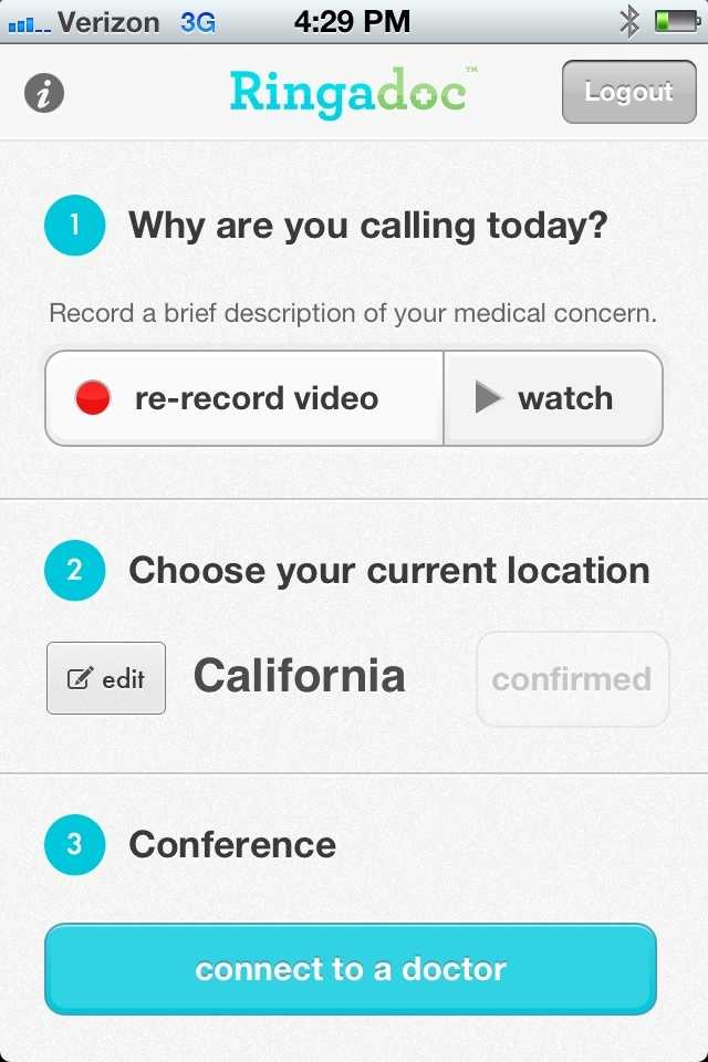 After uploading a video, the system automatically selects a doctor. Patients cannot select a doctor.