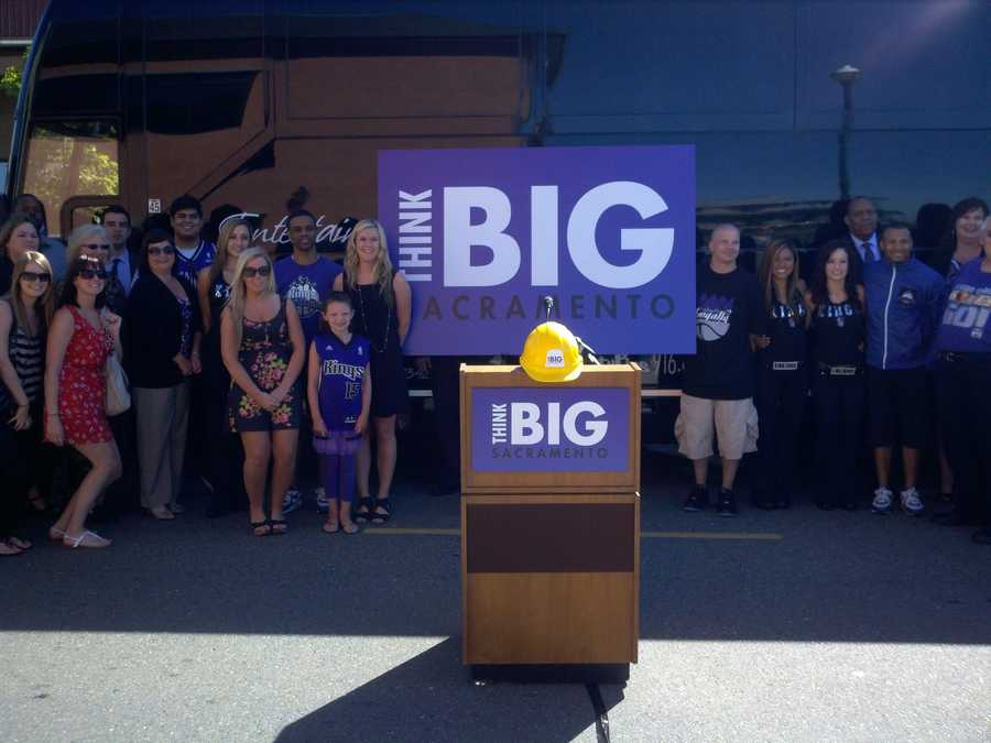 Think BigAugust 18, 2011 -- Think BIG Sacramento announces a variety of possible user fees that could be used to finance an entertainment and sports complex. In a report, a number of revenue streams were mentioned, including naming rights, ticket surcharges, arena fees, parking and other sources.