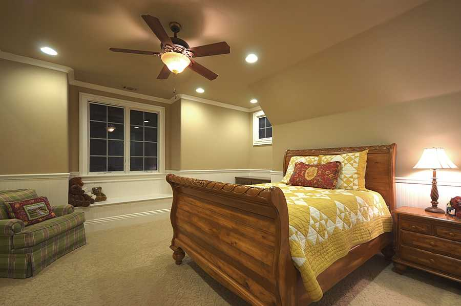 This home has five bedrooms, which offer plenty of options and space for different uses.