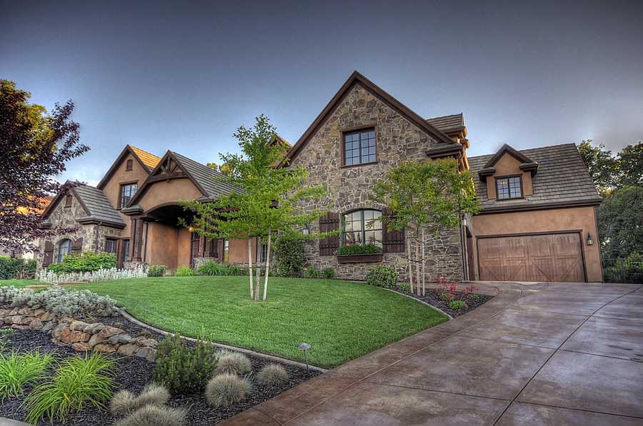 The home has a 7,000-square-foot floor plan.