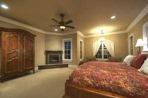 This is the master bedroom.