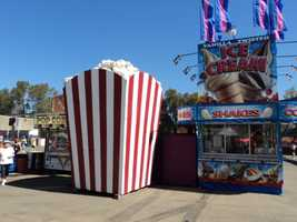 Twisted ice cream, shakes and an extra large popcorn!