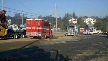 Sunday morningCal Fire says Robbers fire has now cost the state $3.2 million.