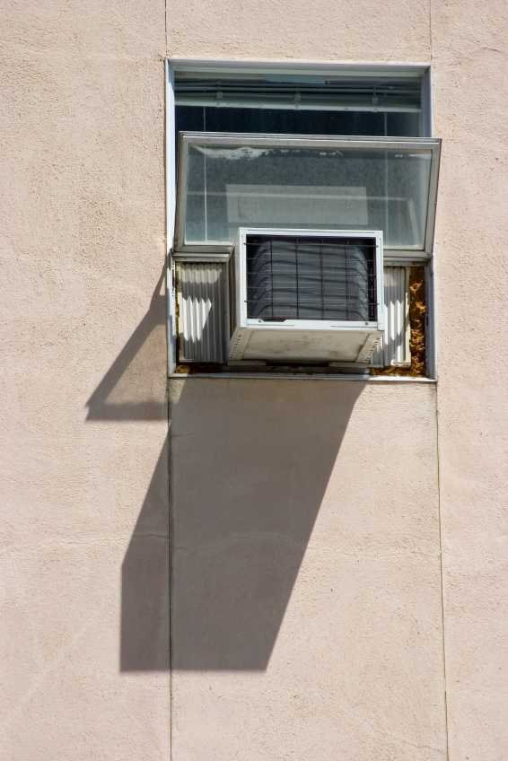 Window air conditioning units were introduced in the 1930s, but were still too expensive for most Americans, according to Time.