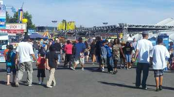 """Thursday'Big Fun' declinesThe California State Fair slogan is """"Big Fun,"""" but this year, fewer people are experiencing what the fair has to offer.""""It's summer, and there is supposed to be a lot more people at a fair,"""" attendee Jennica Simmons said."""
