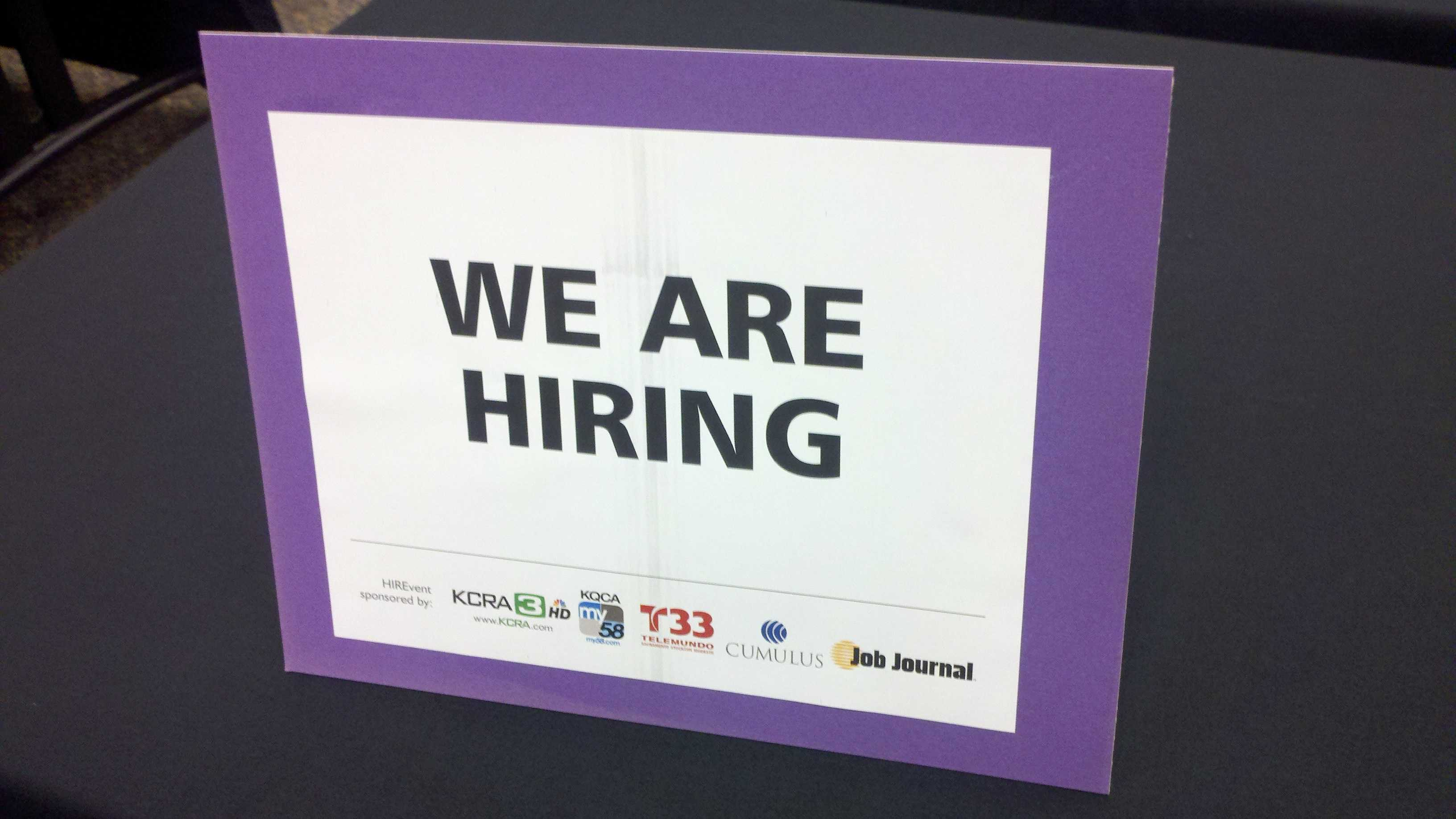 Hundreds of job seekers got face-to-face time Tuesday with potential employers during a job fair in Stockton.