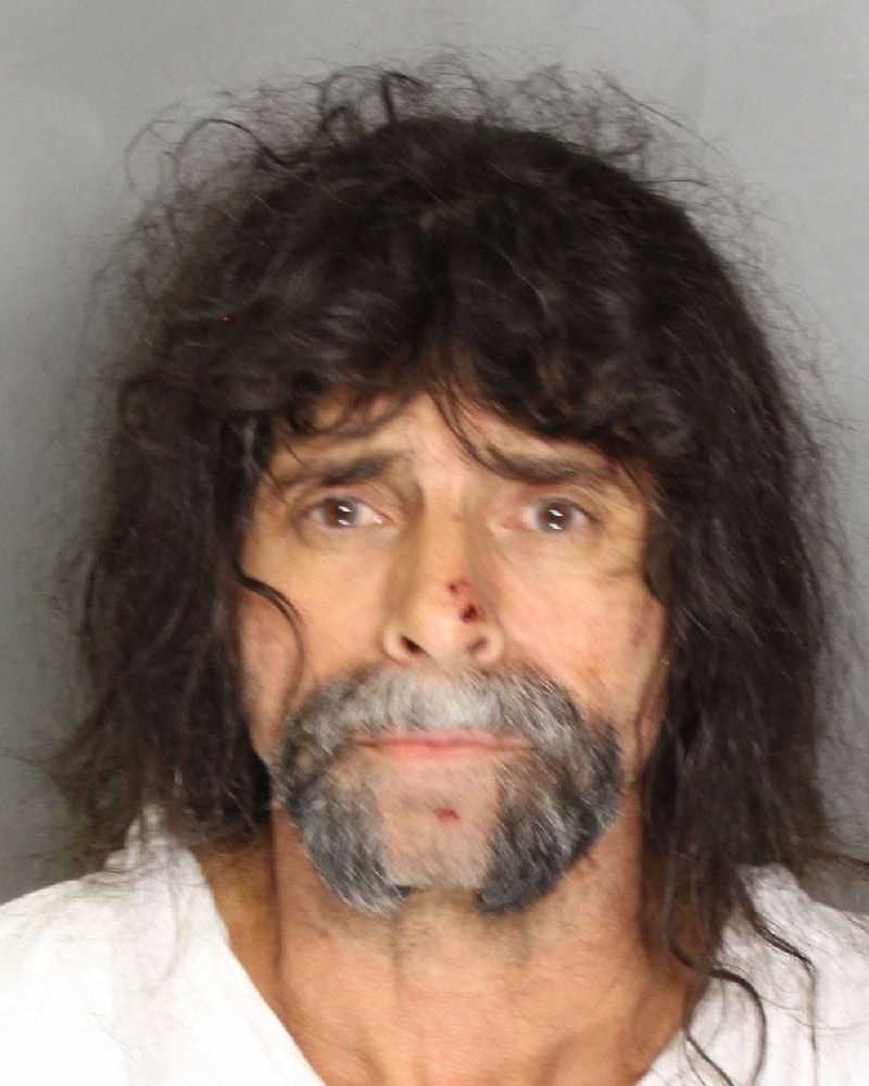 Michael Dean Raner, 50, was arrested on suspicion of shooting his daughter's boyfriend Monday night, Sacramento police said. The victim, who is 41, suffered upper-body gunshot wounds.