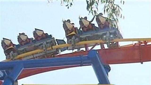 Superman Ride -- KTVU
