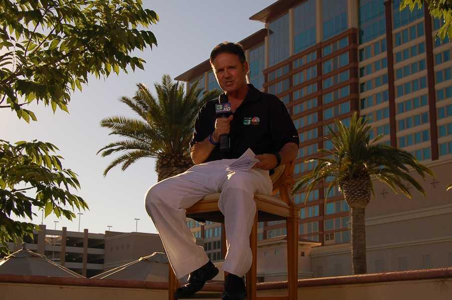 Walt in front of Thunder Valley Casino Resort.