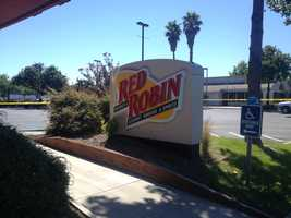 A 28-year-old man was taken into custody Sunday afternoon after firing a round into the air at the Big 5 Sporting Goods store in Yuba City. He also took a cashier and another store employee hostage, police said. A close-by Red Robin was closed while the scene was being monitored.