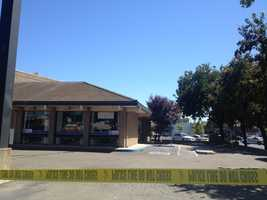 A 28-year-old man was taken into custody Sunday afternoon after firing a round into the air at the Big 5 Sporting Goods store in Yuba City. He also took a cashier and another store employee hostage, police said.