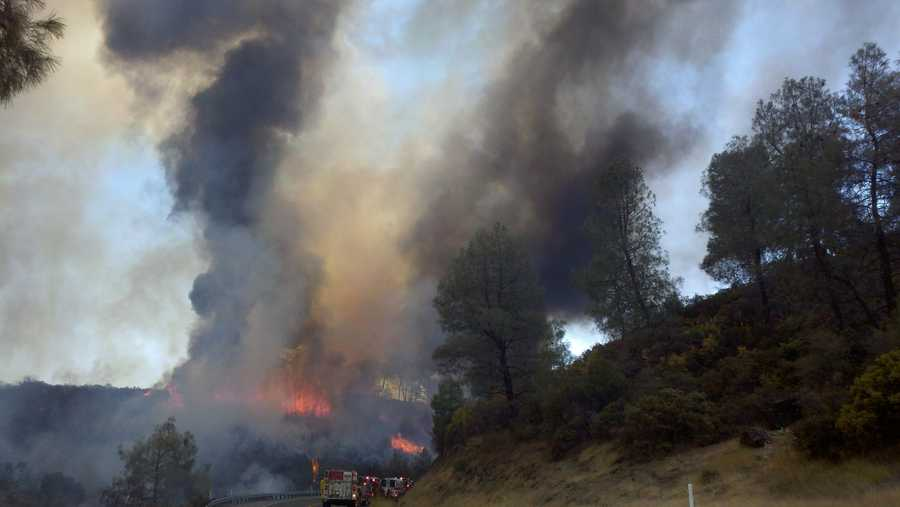 Here's a snapshot of theseveralraging fires in Northern California.