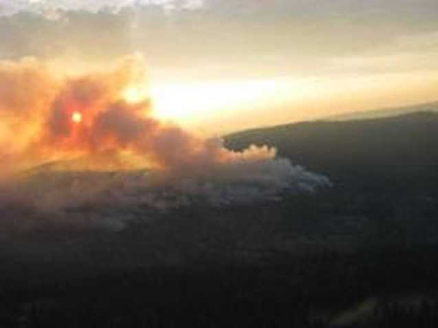 How much has it burned? It currently stands at 650 acres.What about containment? It is about 20 percent contained.
