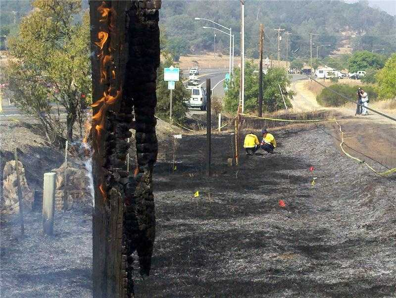 Read more about each fire: Wye Fire, Chips Fire, Ramsey Fire