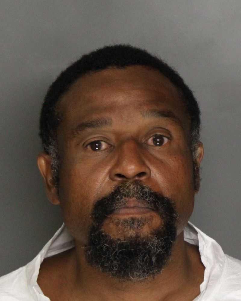 Perry Romano, 49, was arrested on suspicion of attempting to sell stolen items to a local business, police said.