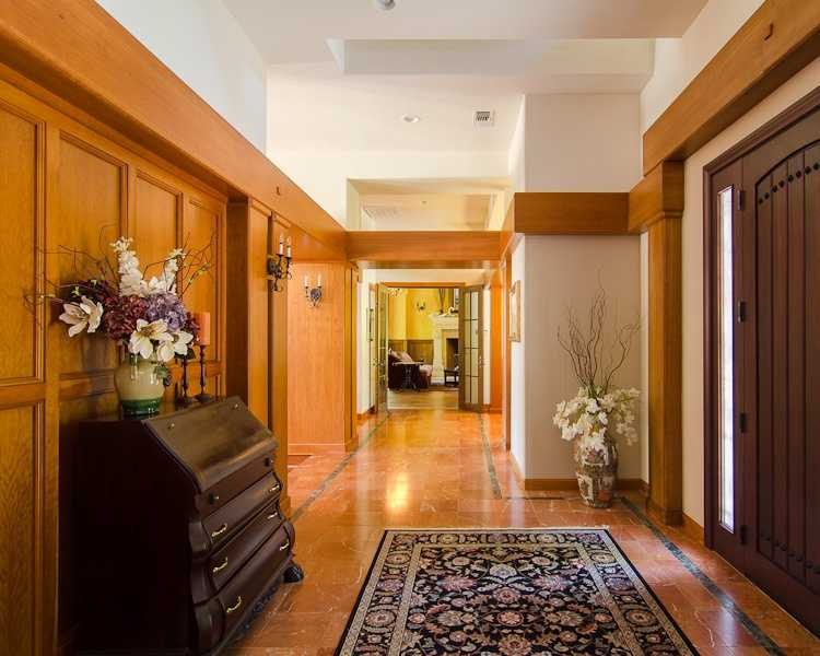 A look down the hallway.