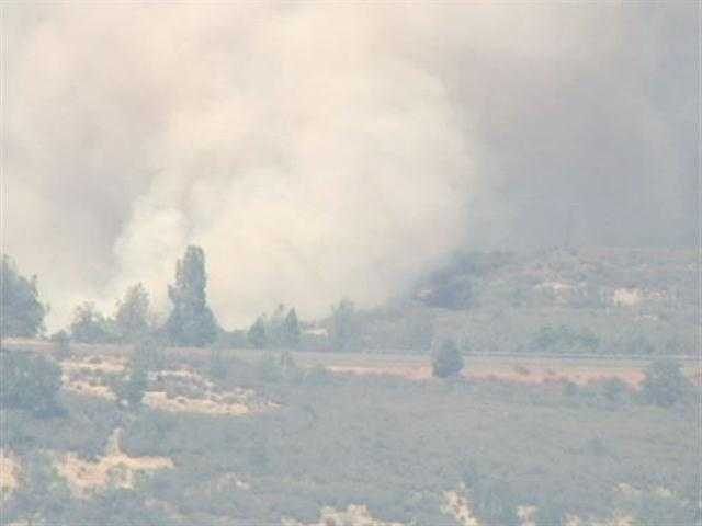LiveCopter 3 image of the Ponderosa Fire. (Aug. 21)