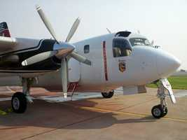 ThursdayThis air tanker could be deployed to fight the Ponderosa Fire.