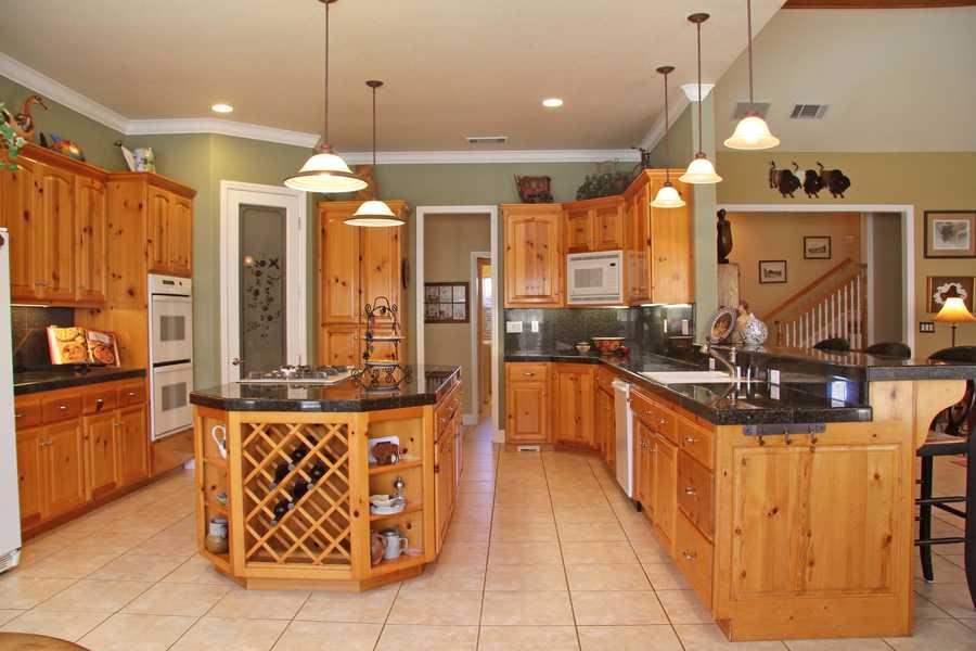 Here's a peek inside the kitchen area.