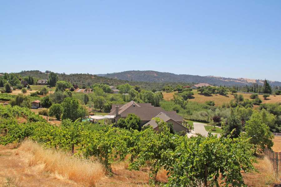 This home includes a hobby winery.