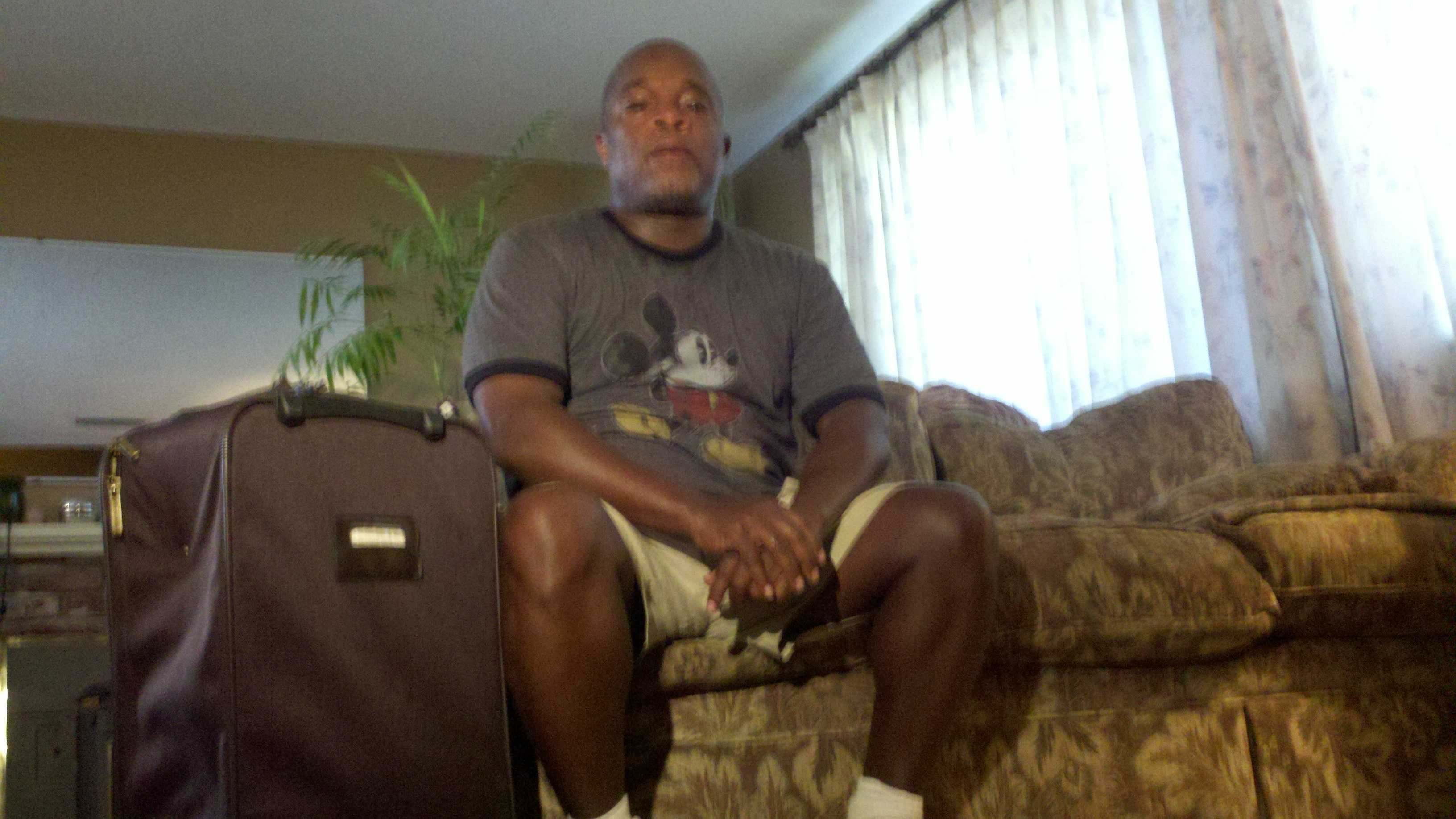 Jefferson McGee of Sacramento plans to be part of protests at the Republican National Convention.