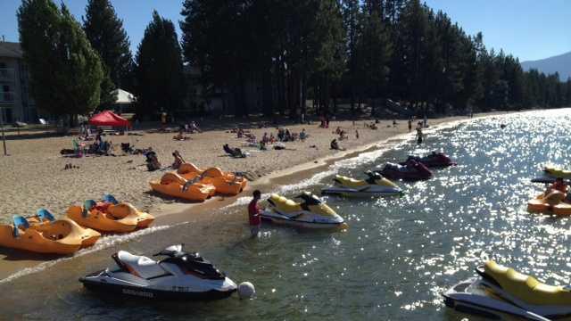 Water Craft Crash South Lake Tahoe