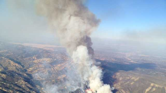 Multiple fires charred hundreds of acres in the Rumsey Canyon area of Colusa County on Tuesday.