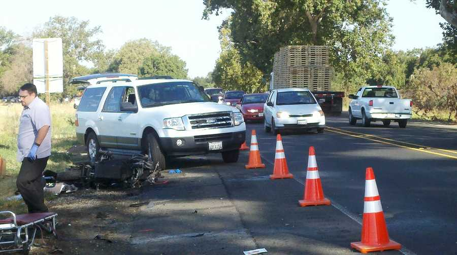One-way traffic measures were taken along the highway after the crash, CHP said.