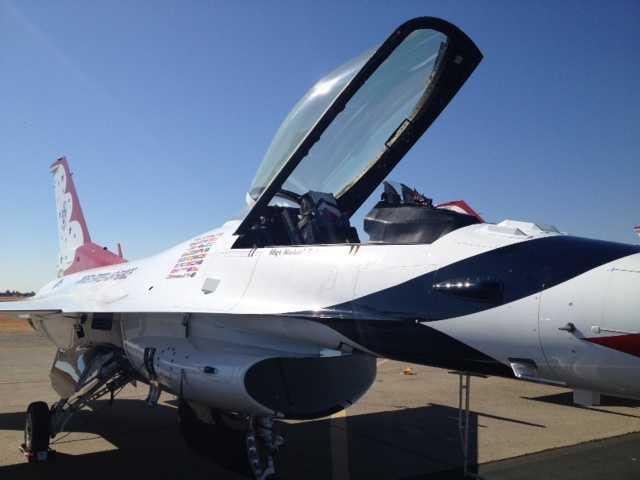 The Sacramento Airshow ran Saturday and Sunday at Mather Airport in Sacramento County.