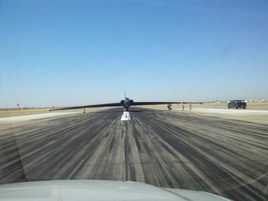 U-2 plane
